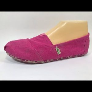 Toms Earthwise Recycle Canvas Loafers 8.5